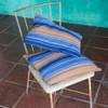 Indigo Stripe Handwoven Pillowcases