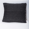 Black & White Brocade Pillow Cover