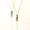 Triple Disc & Chain Lariat