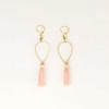 Tassel Drop Earring in Brass