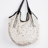 Black & White Hobo Tote