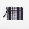 Black & White 3-Zip Change Purse