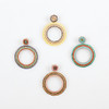 Open Circle Post Earring