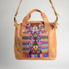 Textile & Leather Day Bag- 1