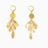Graphic Leaf Earrings