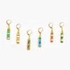 Miyuki Colorblock Dangle Earrings