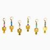 Miyuke & Brass Graphic Earrings
