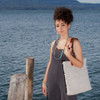 Natural Handwoven Textured Tote