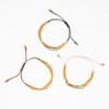 Triple Strand Brass Tube Bracelet