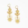 Sun & Moon Totem Earrings