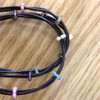 Leather Bracelet & Anklet with Beads
