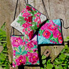 Recycled Blusa Shoulder Pouch