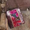 Huipile & Leather Shoulder Bag