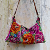 Chichi Small Shoulder Bag with Leather