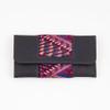Long Nubuck & Huipile Wallet/Clutch