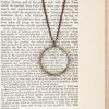 Bronze Monocle Necklace