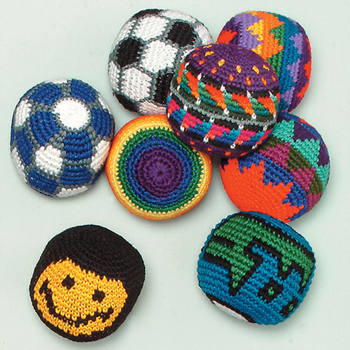 Hand Crocheted Hacky Sacks