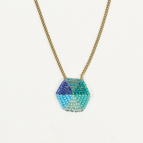 Single Hex Necklace