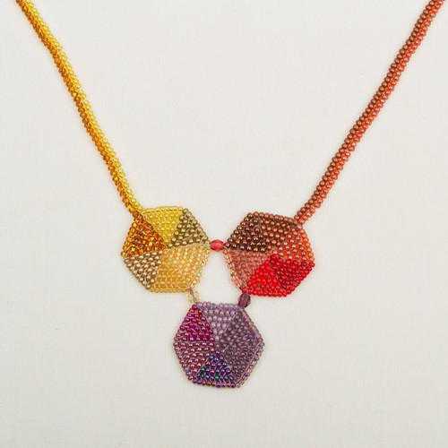 Triple Hex Necklace