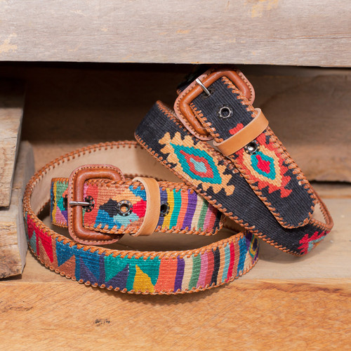 Navajo Design Belt