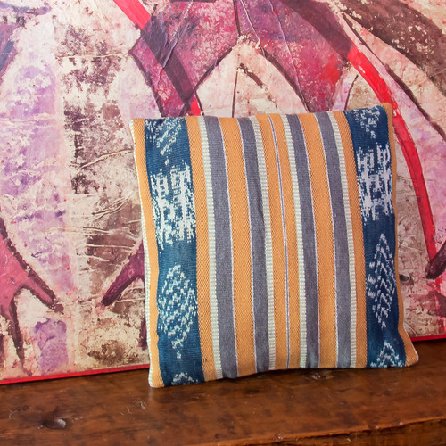 Brown Ikat Pillowcases