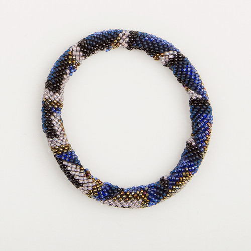 Thick Beaded Bangle