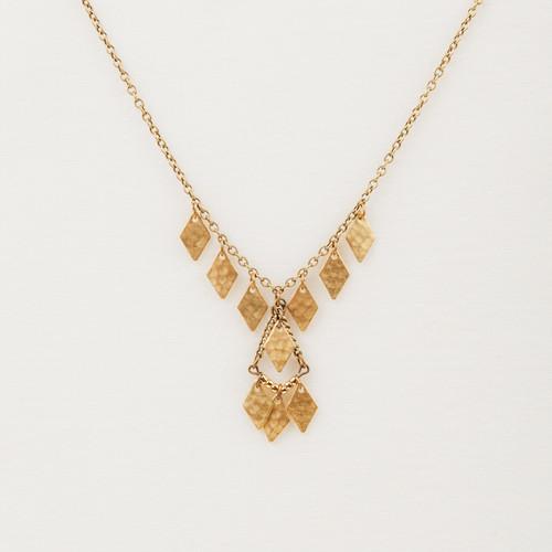 Metal Diamond Necklace