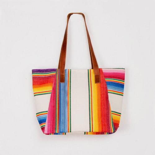 Handwoven Rainbow Bag