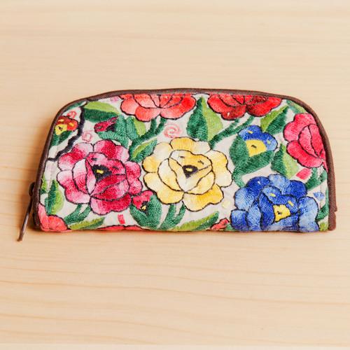 Medium Zip Huipile Wallet