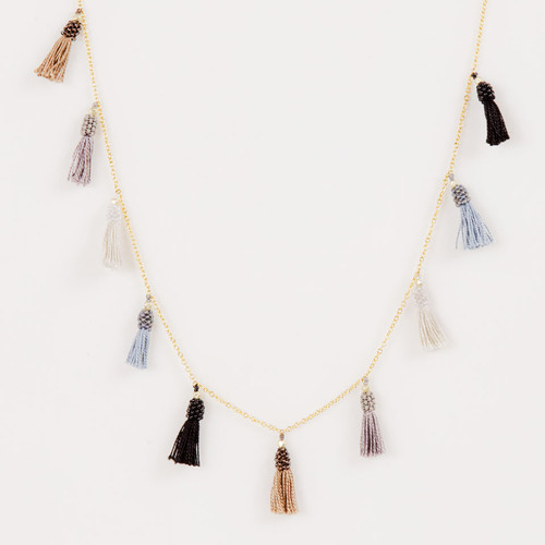 Long Tassel Necklace