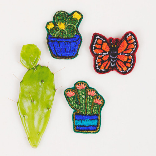 Embroidered Pins