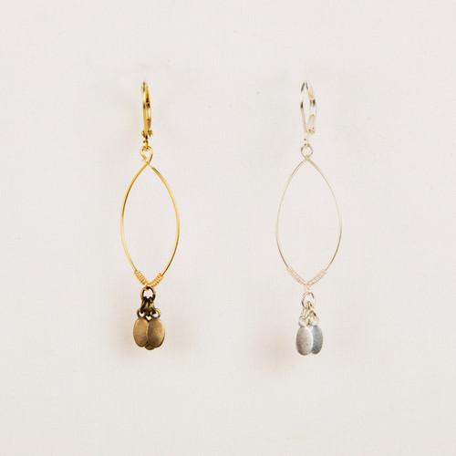 Dangle Oval Earring