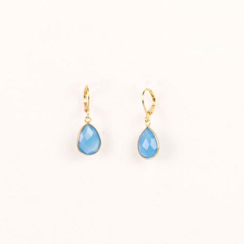 Stone Drop Earring
