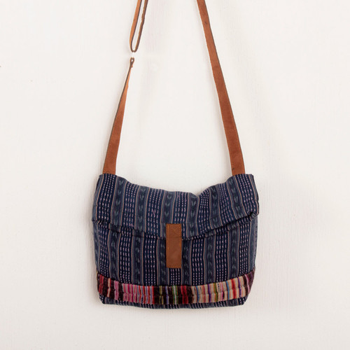 Corte Shoulder Bag with Embroidery