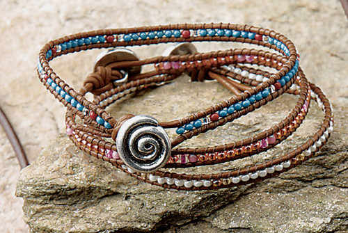 Bracelets and Anklets Set