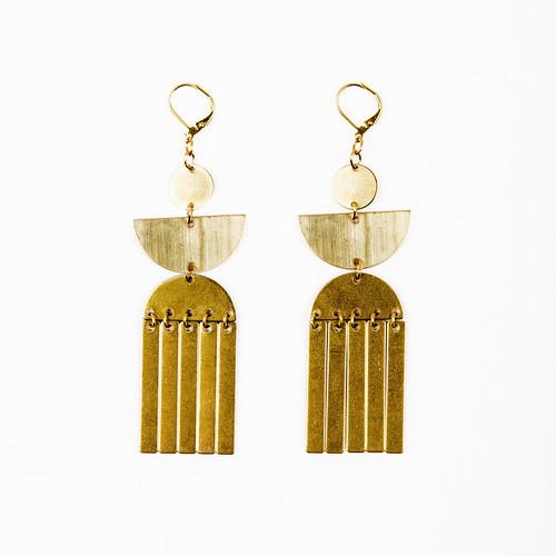 Tassel Totem Earrings