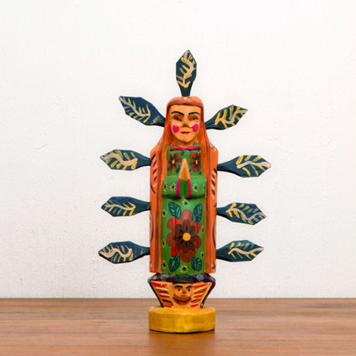 Hand Carved Guadalupe