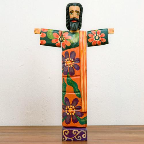 Hand Carved Wooden Jesus