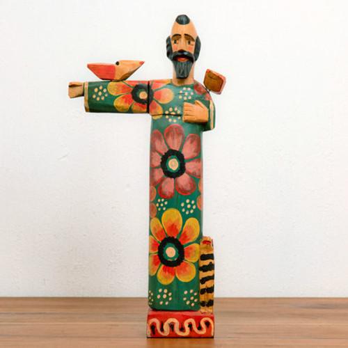 Wooden Saint Francis