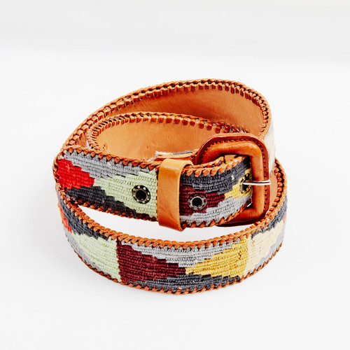 Geometric Handwoven Belt
