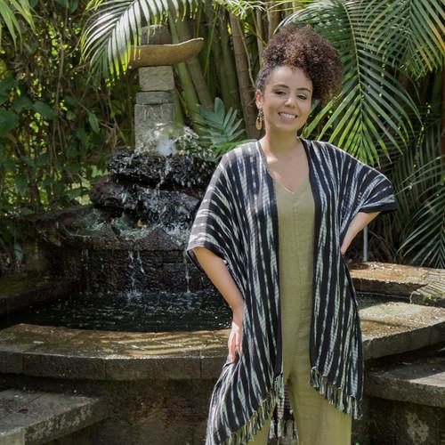 Natural Dye Ikat Kimono