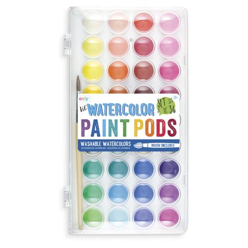 Watercolor Paint Pods
