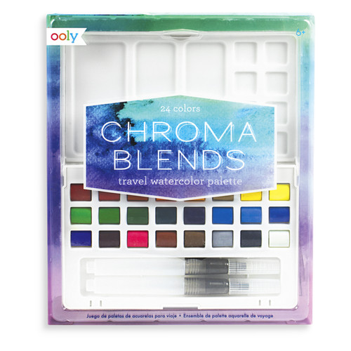Chroma Blend Travel Watercolors