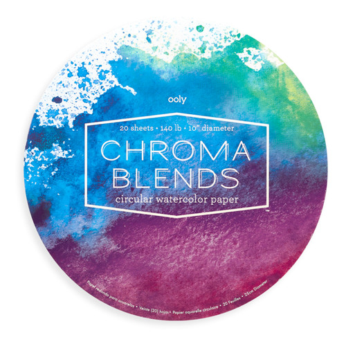 Chroma Blend Circular Watercolor Paper
