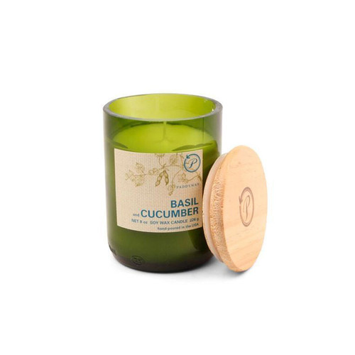 Paddywax Eco Basil Cucumber Candle