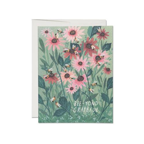 Bee-yond Grateful Card