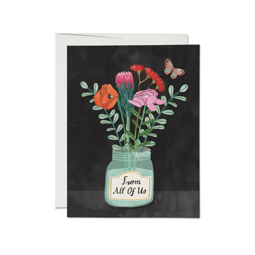 Flowers From Us Card