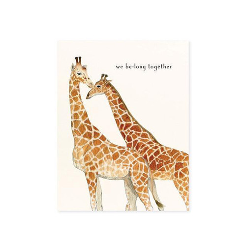 Let's Neck Greeting Card
