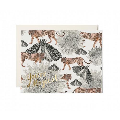 Magical Tigers Card