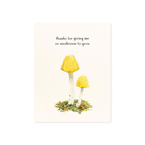 Yellow Cap Greeting Card